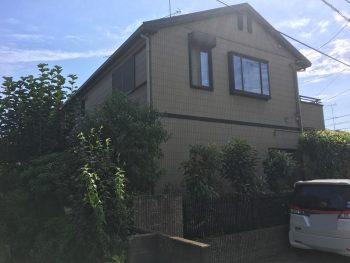 住宅塗装 屋根 外壁 塗り替え 高品質 ダイヤモンドコート 施工前