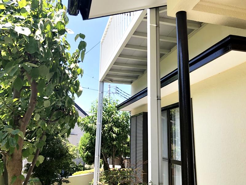 外壁塗装 樋塗装 雨樋 シリコン 人気 口コミ 地域密着 横浜市 栄区