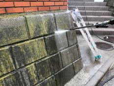 擁壁 洗浄 塗装 横浜市 栄区