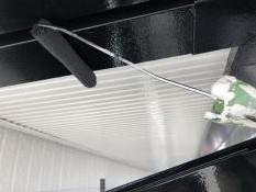 住宅 シリコン系 塗料 塗り替え 上塗り2回目 付帯部塗装