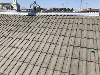 横浜市 瀬谷区 乾式 コンクリート モニエル 屋根塗装 施工前