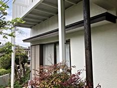 雨樋 塗装 リフォーム 施工前 剥れ 劣化