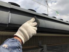 軒樋塗装 シリコン 塗り替え リフォーム 横浜市