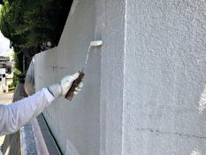 塀塗装 下塗り 日本ペイント つや無し 人気