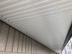 戸建住宅 リフォーム 塗装 軒天 施工前 横浜市