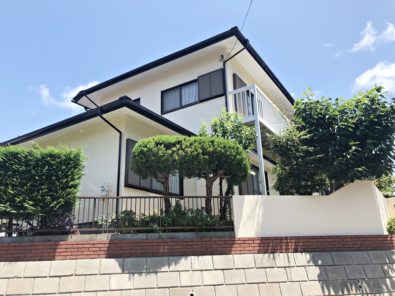 戸建住宅 塗り替え リフォーム 外壁塗装 屋根塗装 樋 塀塗装 横浜市