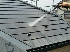 屋根塗装 洗浄 藻 カビ