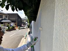 住宅 塗り替え 塀塗装 つや無し 人気 上塗り