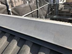 住宅塗装 屋根 棟板金 塗り替え リフォーム 遮熱 施工前