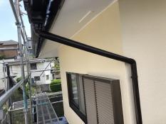 竪樋 塗り替え 横浜市 栄区 塗装専門店 シリコン