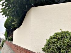 横浜市 住宅塗装 シリコン系 塀塗装 施工後
