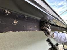 住宅塗装 付帯部 破風 塗り替え リフォーム 塗膜 剥れ ケレン