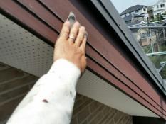 住宅塗り替え 破風 ケレン