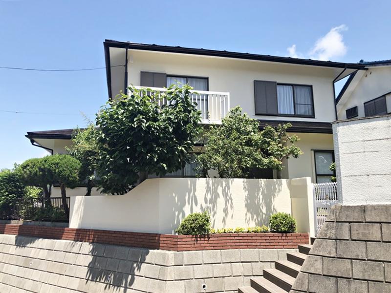 横浜市 栄区 住宅塗装 外壁 屋根 付帯部 施工後