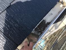 横浜市磯子区K様邸インディフレッシュセラ外壁塗装施工後清掃作業