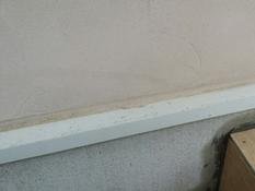 住宅 塗り替え 水切り 施工前 横浜市 磯子区