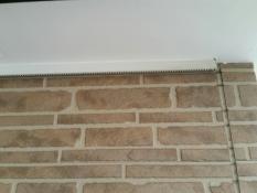 軒天塗装 施工前 戸建