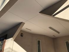 横浜市 磯子区 戸建て 住宅 軒天塗装 施工雨