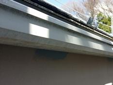 住宅塗装 軒樋 塗り替え 施工前 シリコン