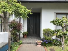 外壁塗装 施工前 横浜市 栄区 戸建住宅