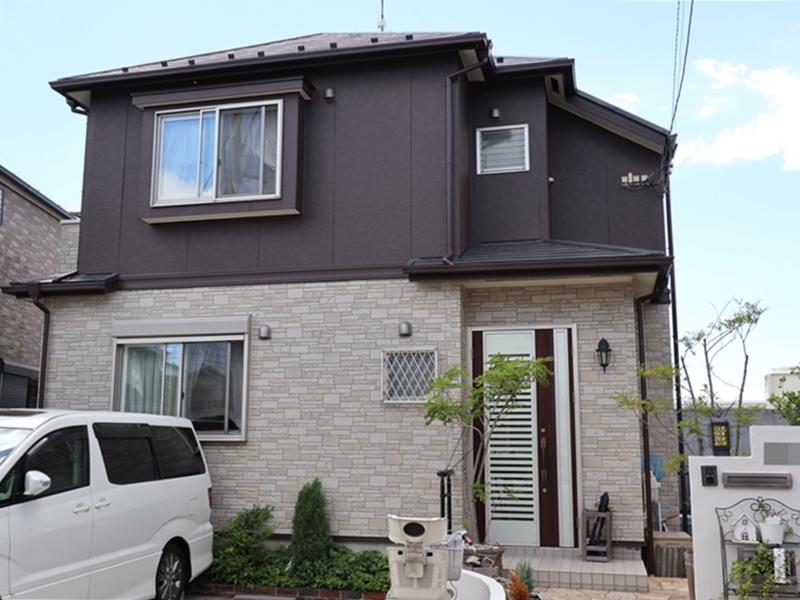 住宅塗装 横浜市 施工後