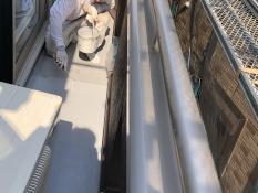 横浜市 戸建住宅 ベランダ 保護塗装