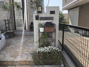 塀の塗り替え工事 横浜市戸塚区