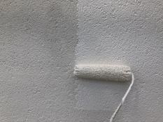 上塗り2回目 外壁塗装 横浜市港南区