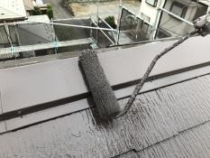 遮熱 シリコン 棟板金塗装