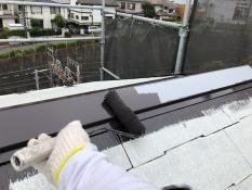 港南区 塗装工事 屋根 棟板金