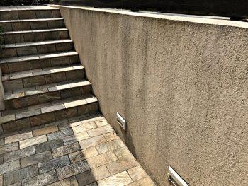 塀塗装 施工前 外構