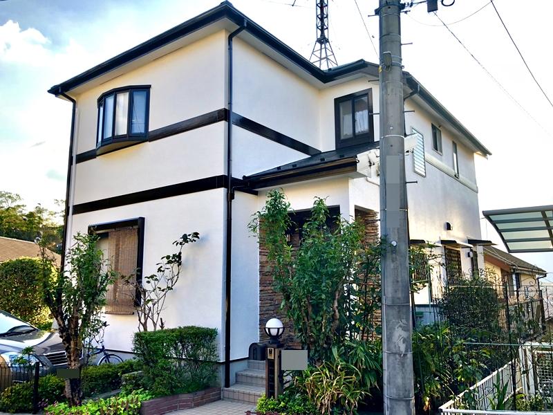 住宅塗装 日本ペイント ダイヤモンドコート 旭区