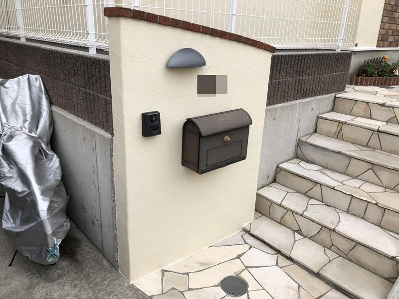 戸建住宅 外構 塗装