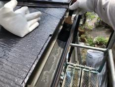 軒樋清掃 住宅塗り替え 横浜市