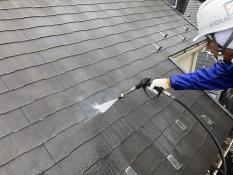 屋根塗装 高圧洗浄 横浜市港南区