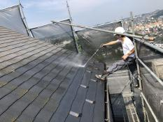 高圧洗浄 屋根塗装 横浜市
