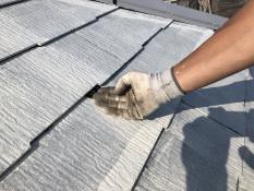 屋根塗り替え 縁切り 雨漏り防止