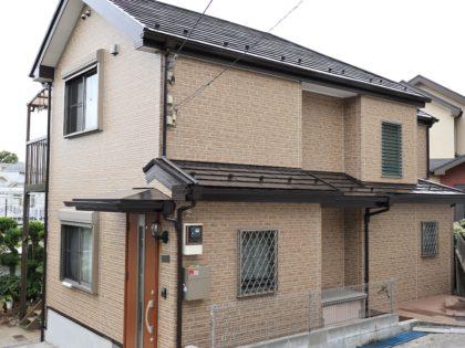 横浜市鶴見区 O 様邸 UVプロテクト4Fクリヤー外壁塗装
