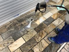 塗装 外構 土間 高圧洗浄
