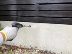 外構 塗り替え 高圧洗浄