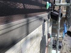戸建塗り替え 幕板 塗装前