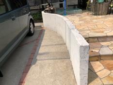 塀 塗り替え 施工前 戸塚区