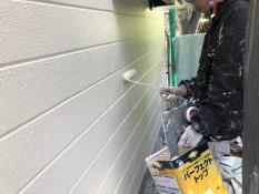外壁塗装リフォーム 上塗り2回目