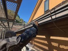 軒樋 塗り替え ケレン