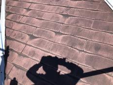 旭区 屋根塗装 施工前