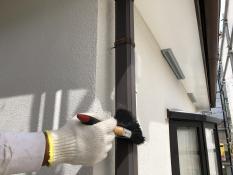 竪樋 塗り替え 清掃