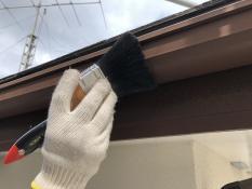 横浜市 住宅塗装 軒樋