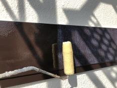 UVカットクリヤー 幕板塗装