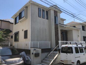 戸塚区 外壁塗装 施工前