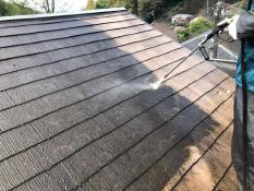 高圧洗浄 屋根塗装 逗子市